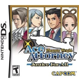 Nintendo DS Ace Attorney Phoenix Wright Justice for All (CiB)