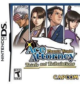 Nintendo DS Ace Attorney Trials and Tribulations (CIB)