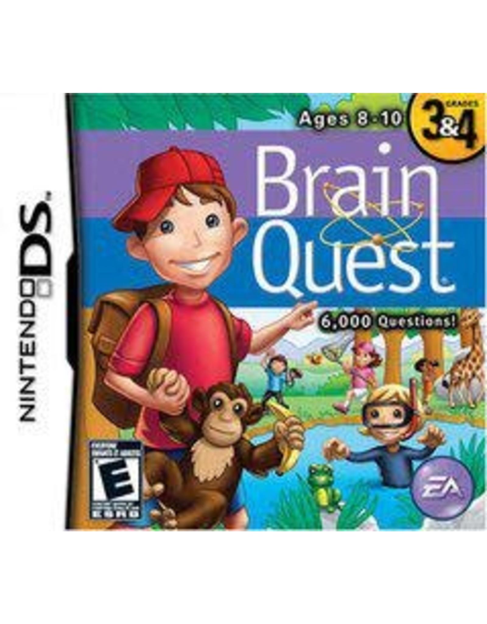 Nintendo DS Brain Quest Grades 3 & 4 (Water Damaged)