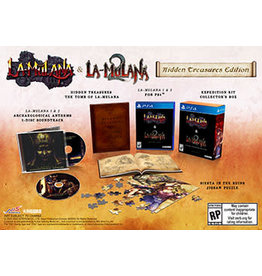 Playstation 4 LA Mulana 1 & 2: Treasures Edition (PS4)