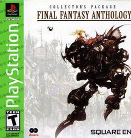Playstation Final Fantasy Anthology (Reprint, Brand New)