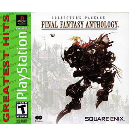 Playstation Final Fantasy Anthology (Reprint, Brand New)