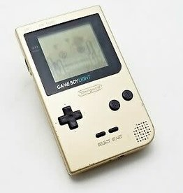Gameboy Light Gameboy Light Gold (Used, Worn Shell, Consignment)