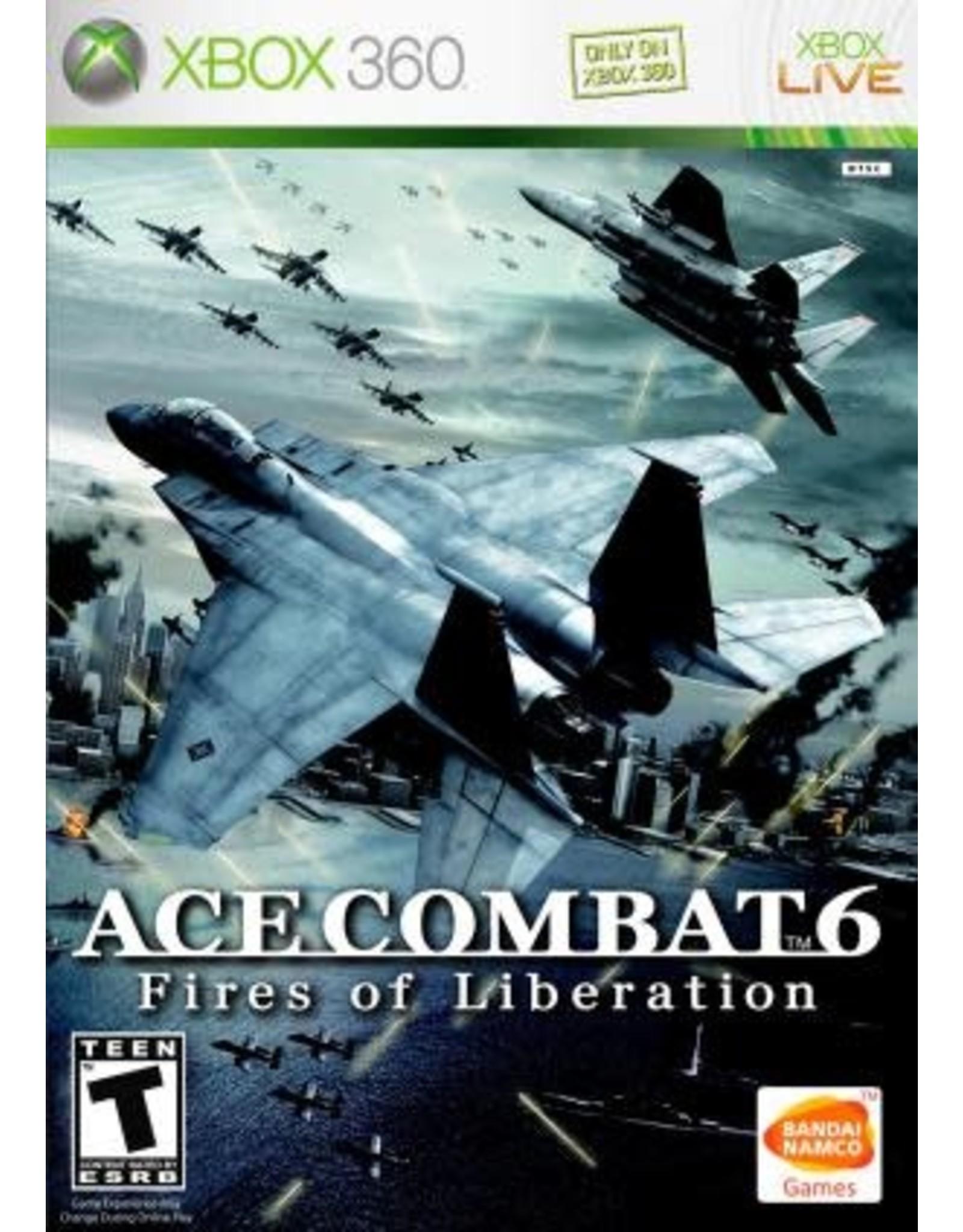 Xbox 360 Ace Combat 6 Fires of Liberation (CIB)