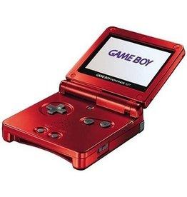 GameBoy Advance Gameboy Advance SP (Red, Damaged Shell)