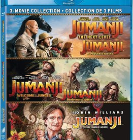 Used Bluray Jumanji 3-film Collection (USED)