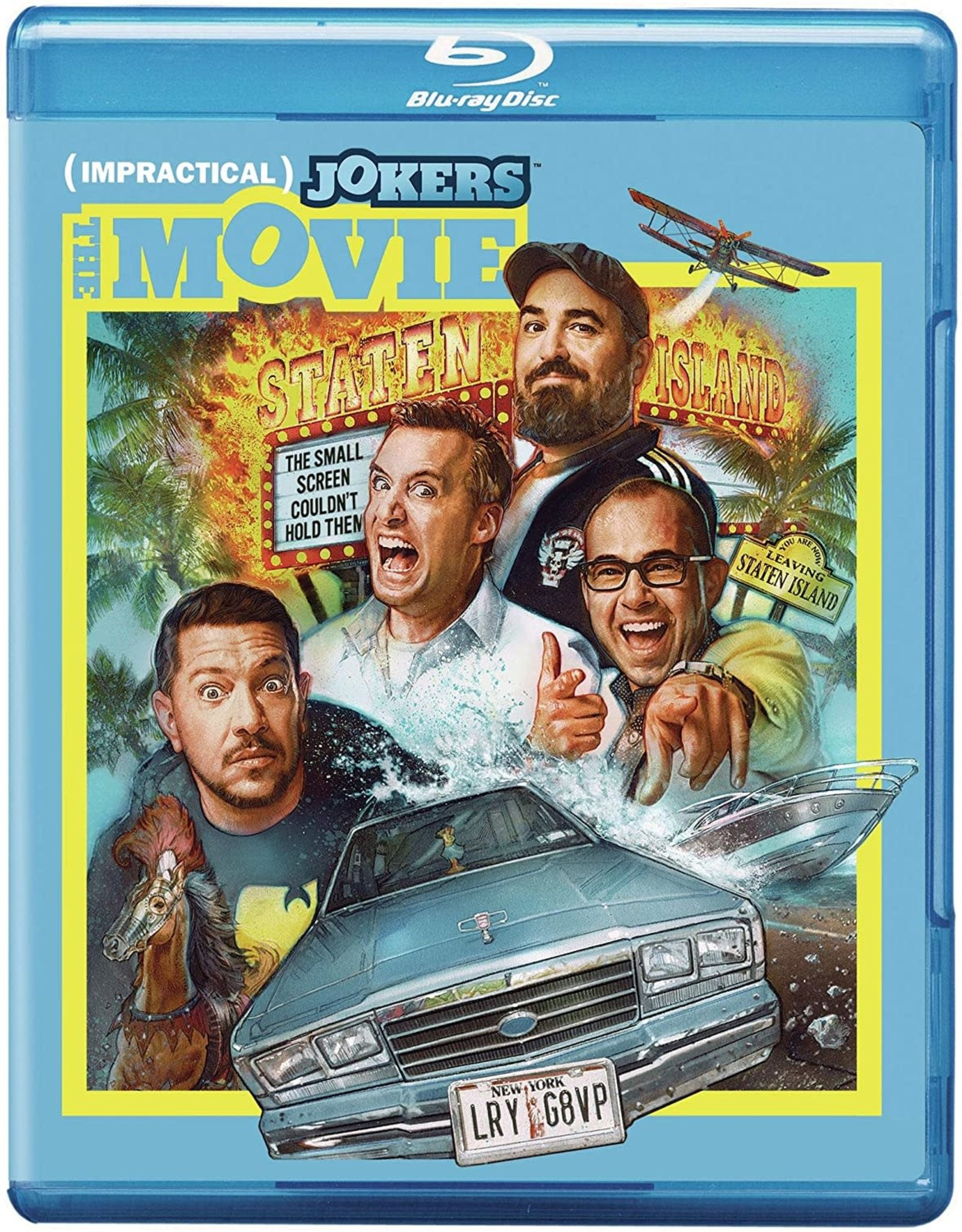Used Bluray Impractical Jokers The Movie (USED)
