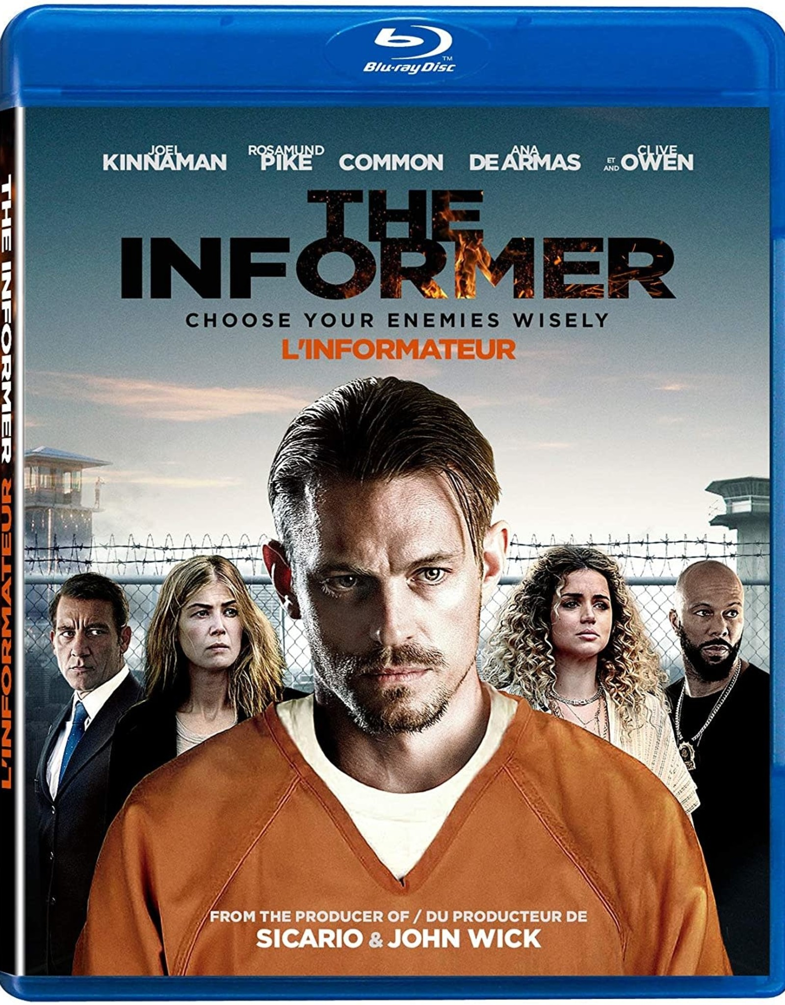 Used Bluray The Informer (USED)