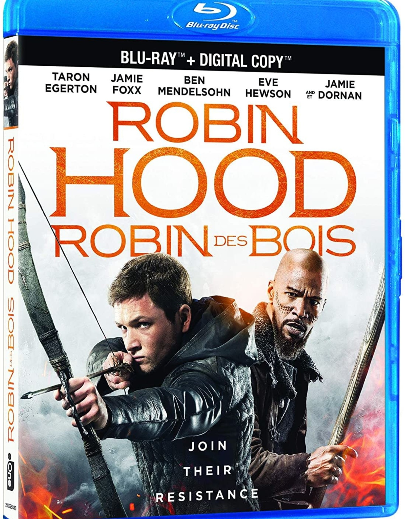 Used Bluray Robin Hood 2019 (USED)