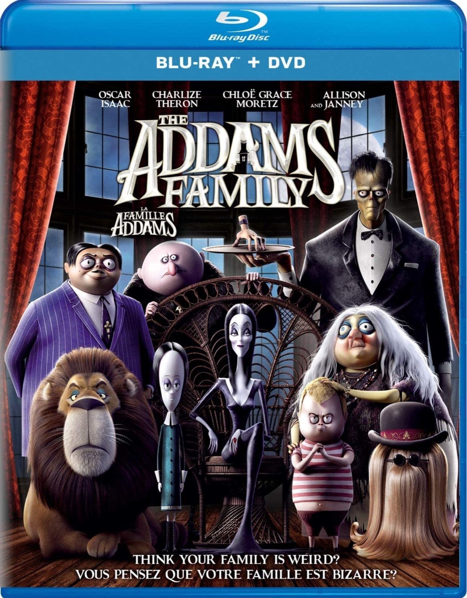 Used Bluray The Addams Family 2020 (USED)