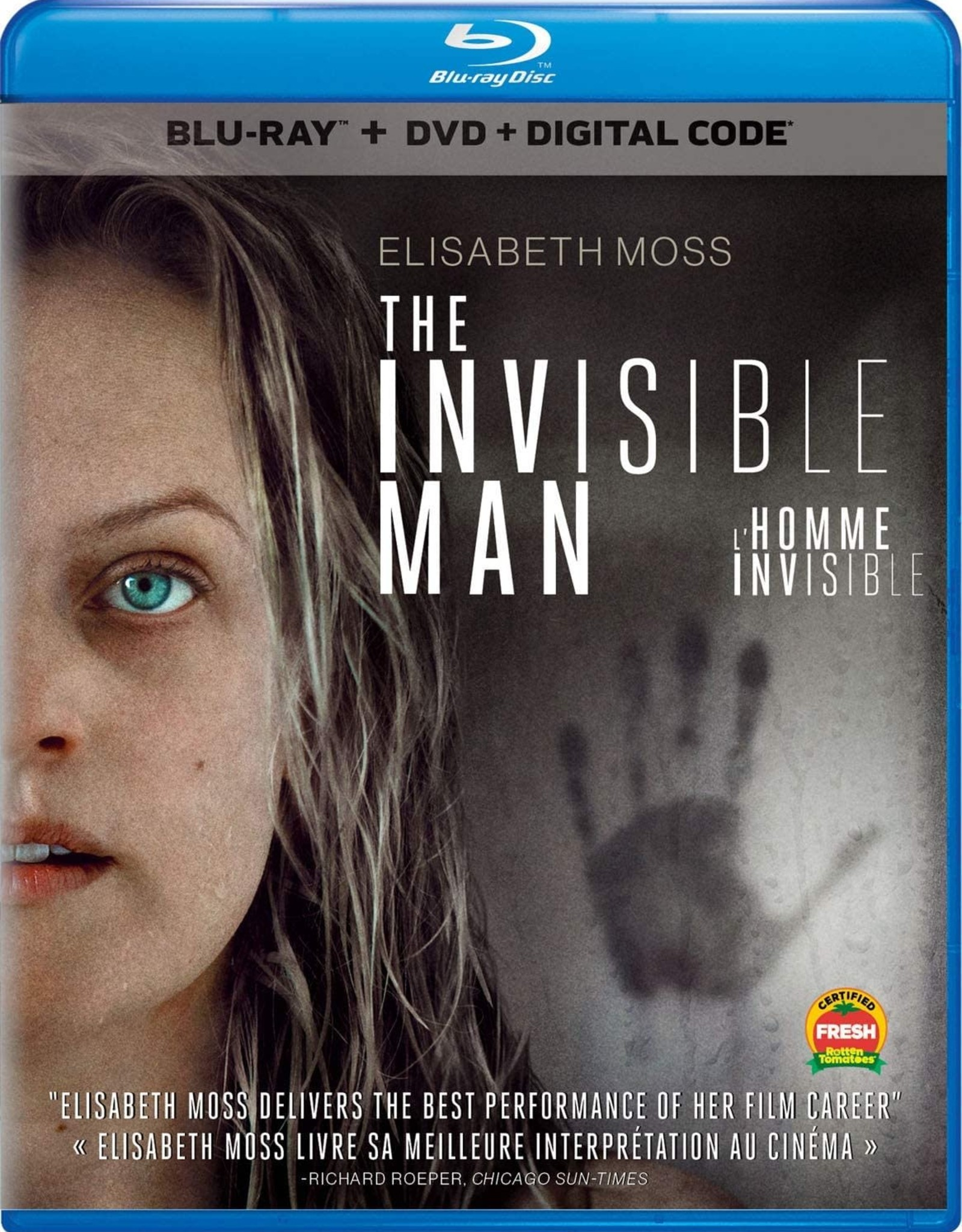 Used Bluray The Invisible Man 2020 (USED)