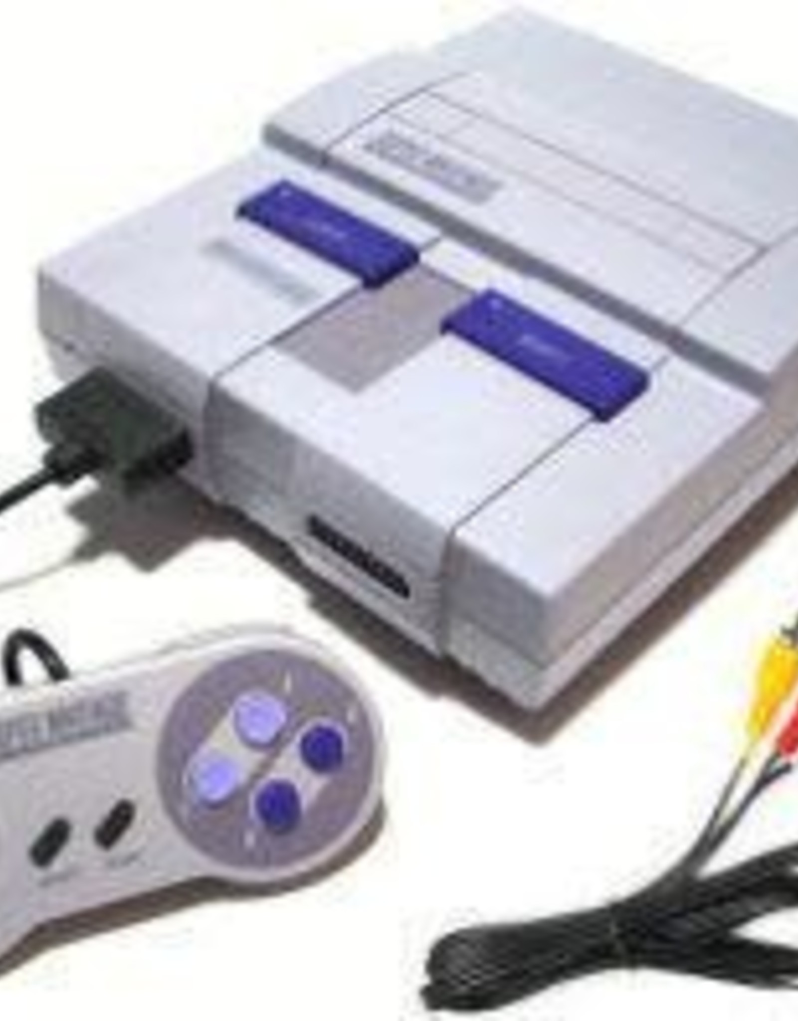 Super Nintendo Super Nintendo System with 3rd Party Controller