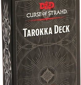 Dungeons & Dragons Curse of Strahd Tarokka Deck