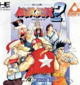 PC Engine Fatal Fury 2 CIB (JPN Import)