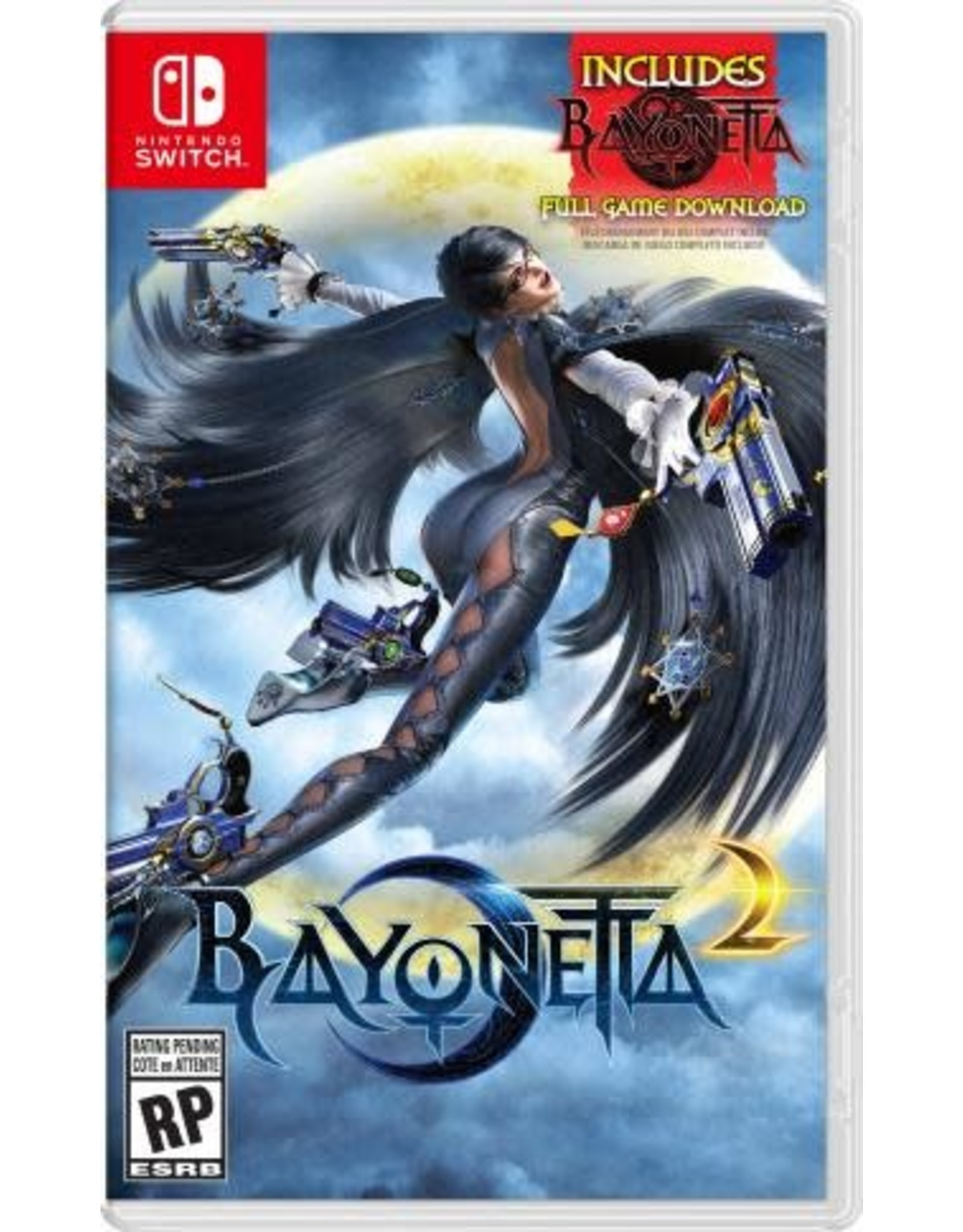 Nintendo Switch Bayonetta 2 (includes Bayonetta Game Download)