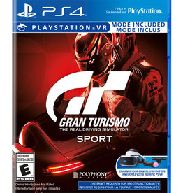 Playstation 4 Gran Turismo Sport