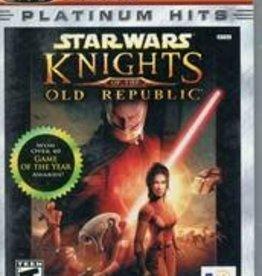 Xbox Star Wars Knights of the Old Republic Platinum Hits (CIB)
