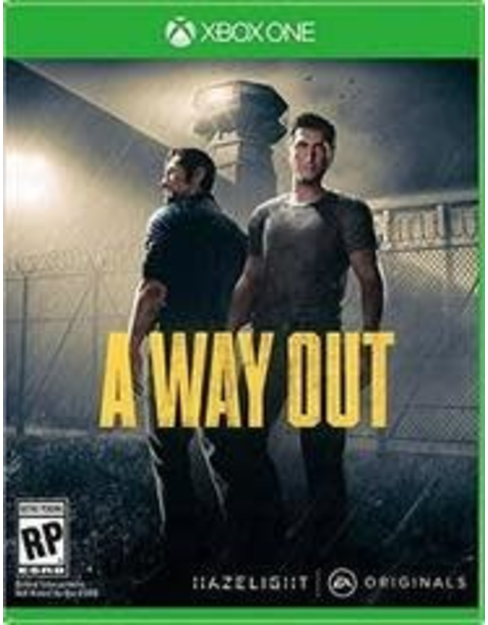 Xbox One A Way Out (Used, TWO PLAYER ONLY)