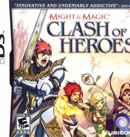 Nintendo DS Might and Magic Clash of Heroes (New, Sealed)