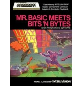 Intellivision Mr. Basic Meets Bits 'N Bytes (CIB)