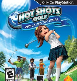 Playstation Vita Hot Shots Golf World Invitational (Cart Only)