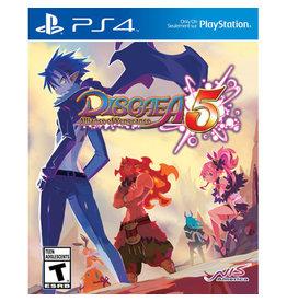 Playstation 4 Disgaea 5 Alliance of Vengeance (New)
