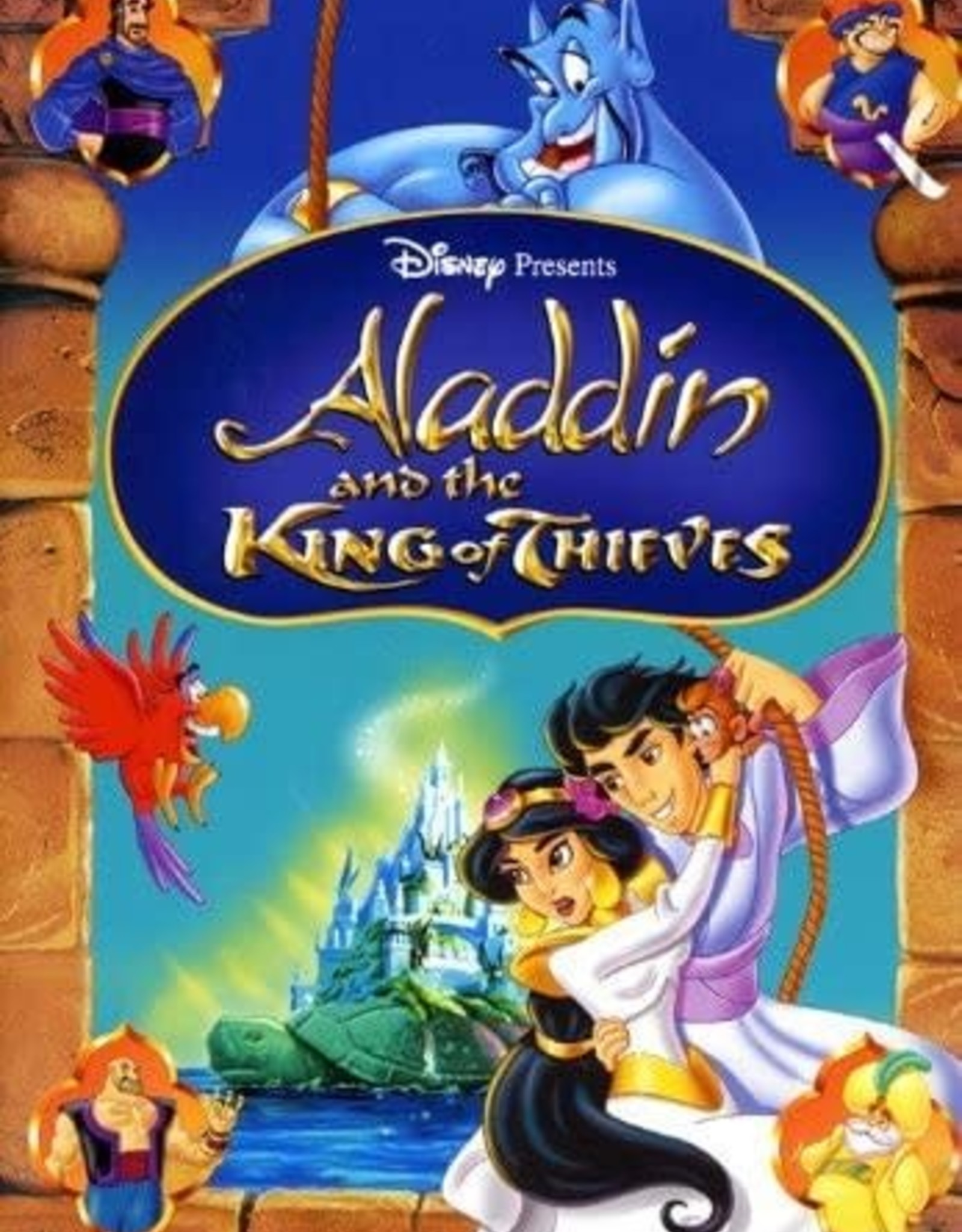 Disney Aladdin and the king of Theives (USED)