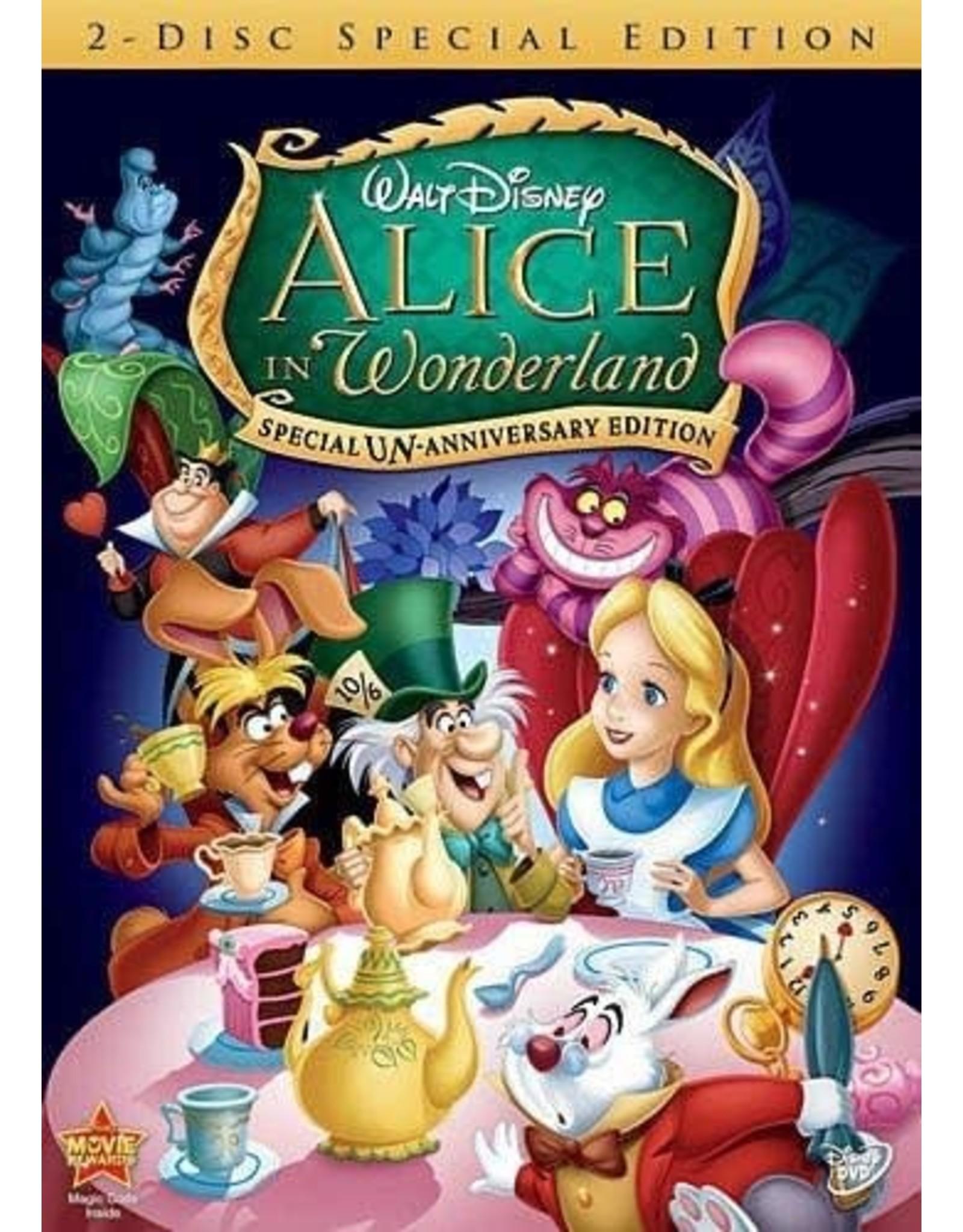 Disney Alice in Wonderland Special UN-Anniversary Edition (USED)