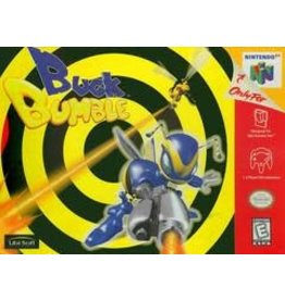 Nintendo 64 Buck Bumble (Sun Faded, Damaged Label, Cart Only)