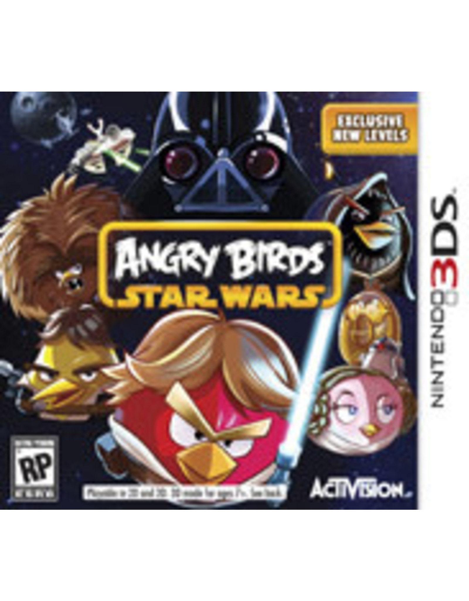 Nintendo 3DS Angry Birds Star Wars (CiB)