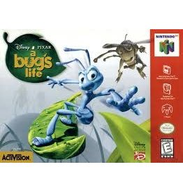 Nintendo 64 A Bug's Life (Cart Only, Damaged Label)