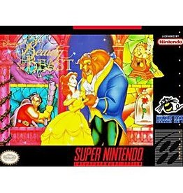 Super Nintendo Beauty and the Beast