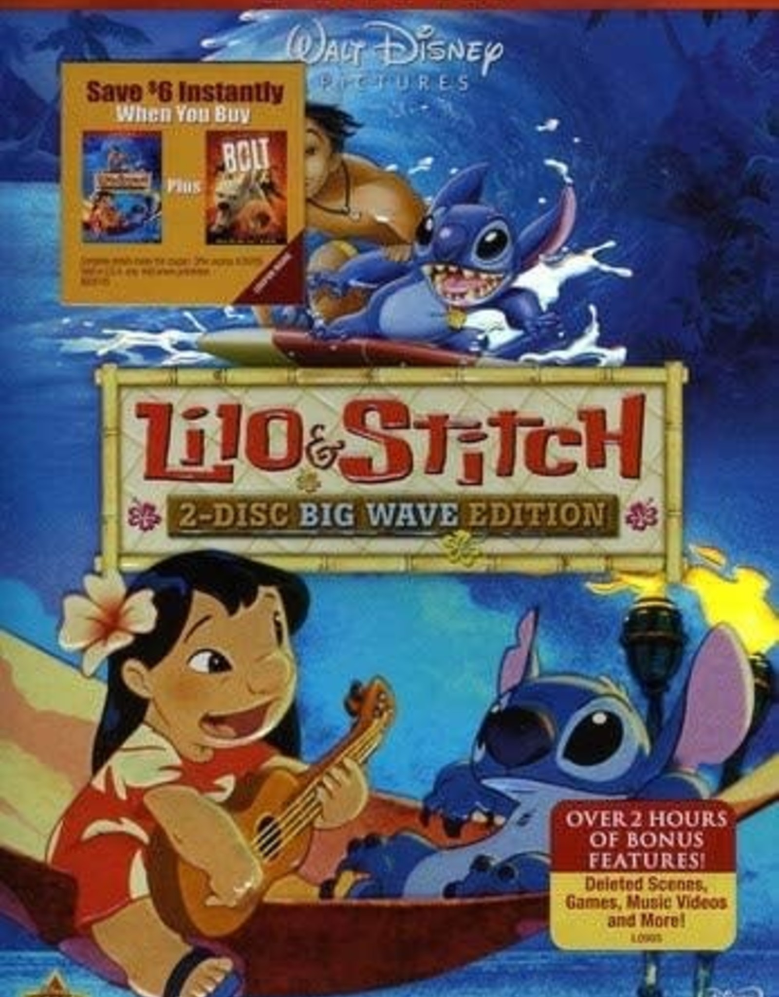 Disney Lilo & Stitch Big Wave Edition (USED)