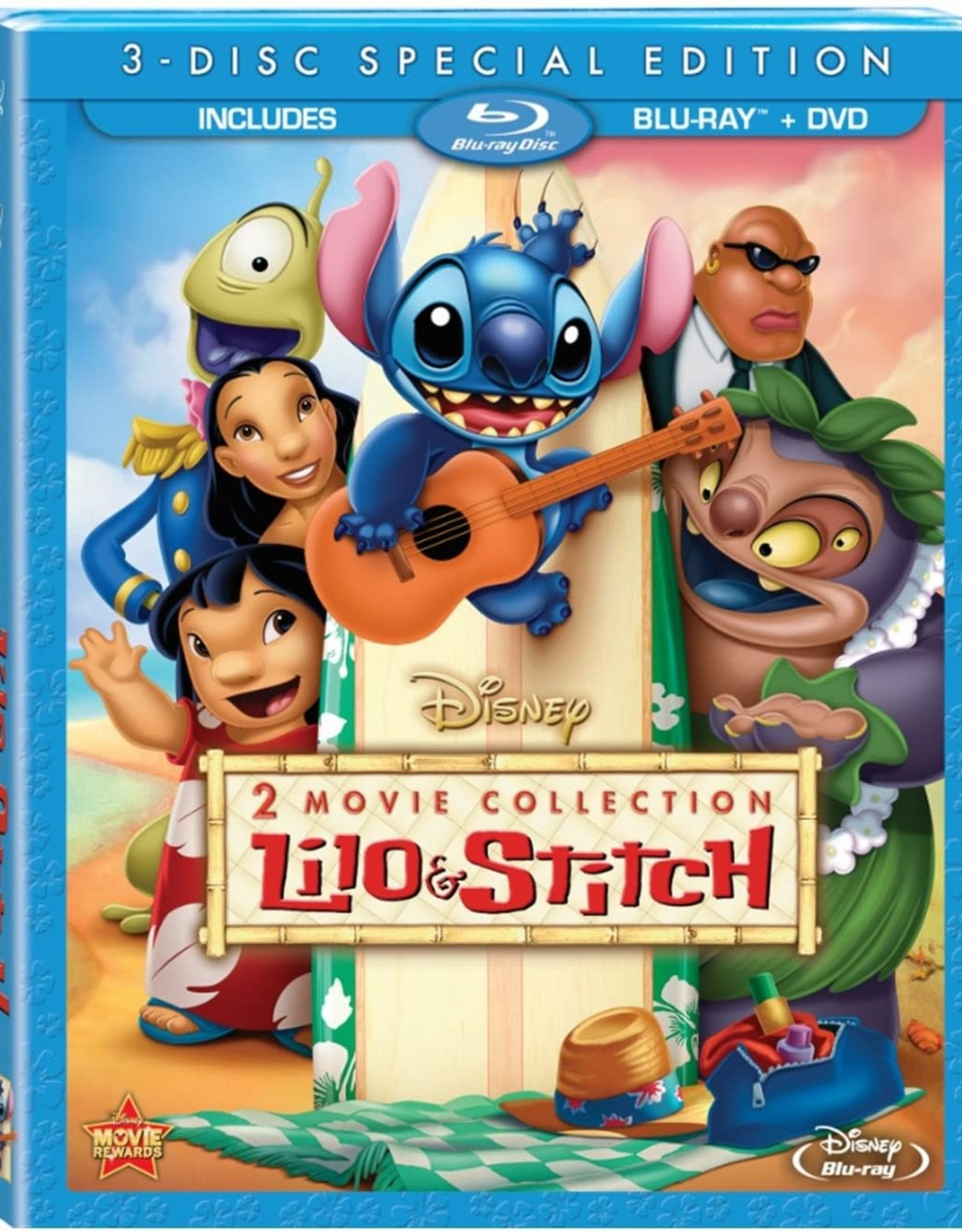 Disney Lilo & Stitch 2 Movie Collection (USED)