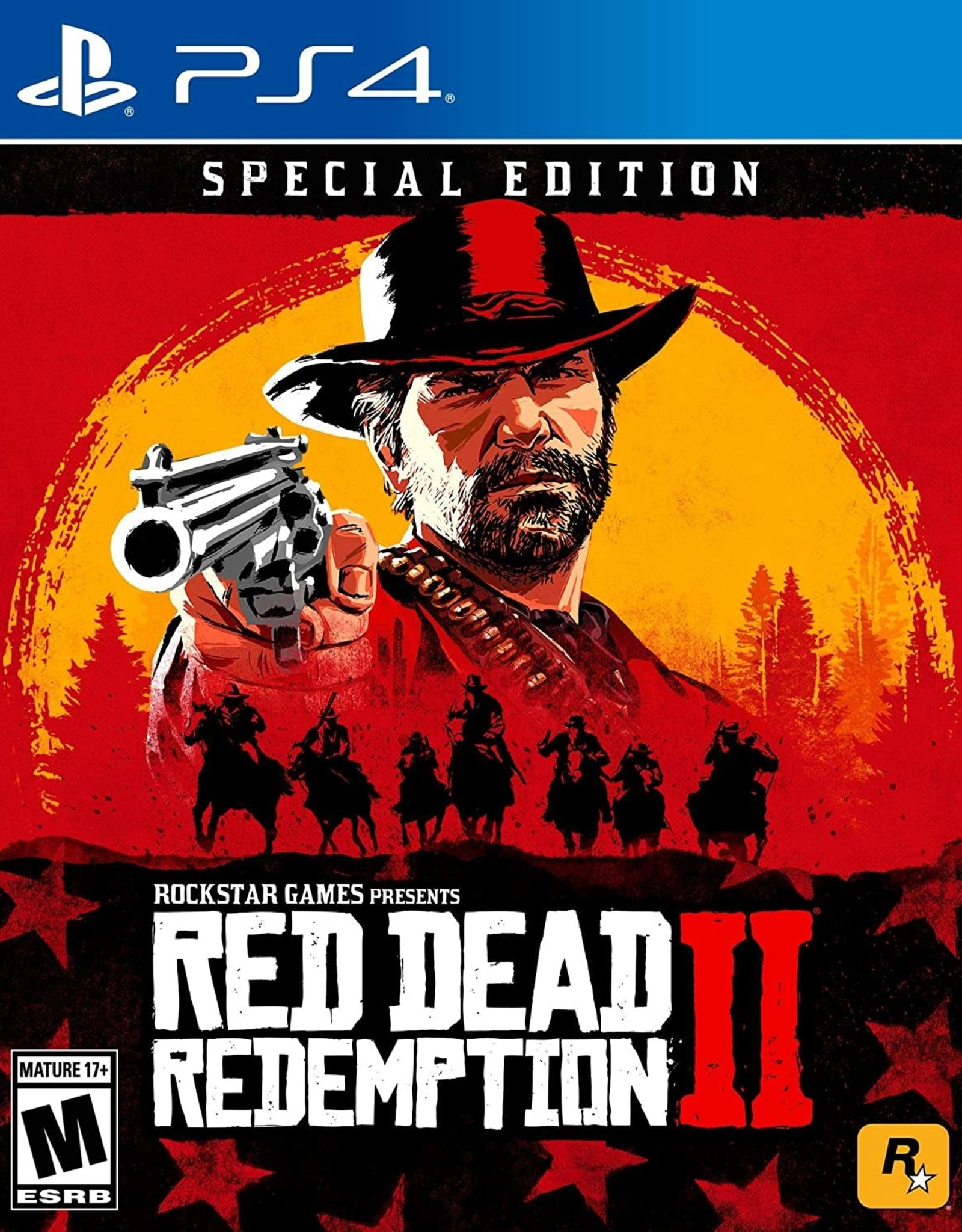 Playstation 4 Red Dead Redemption Special Edition (DLC Not Included, Used)