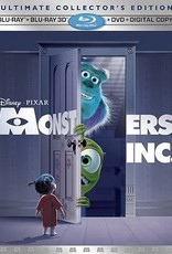 Disney Monsters Inc. Ultimate Collector's Edition 3D (USED)