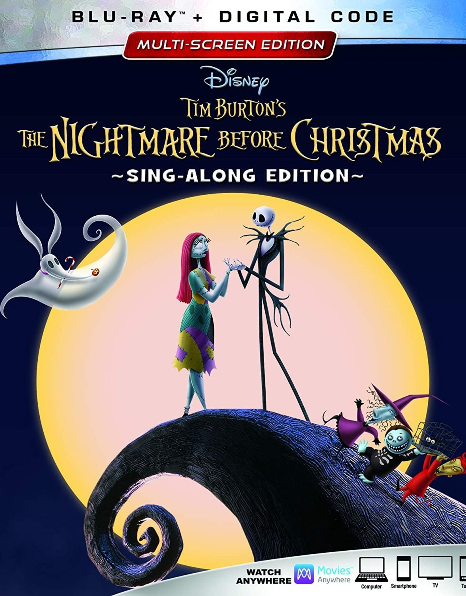 Disney Nightmare Before Christmas Sing-Along Edition (USED)