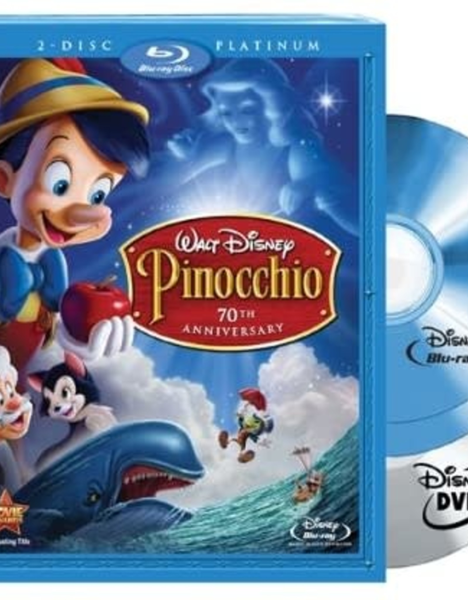 Disney Pinocchio Platinum Edition (Bluray Only, USED)