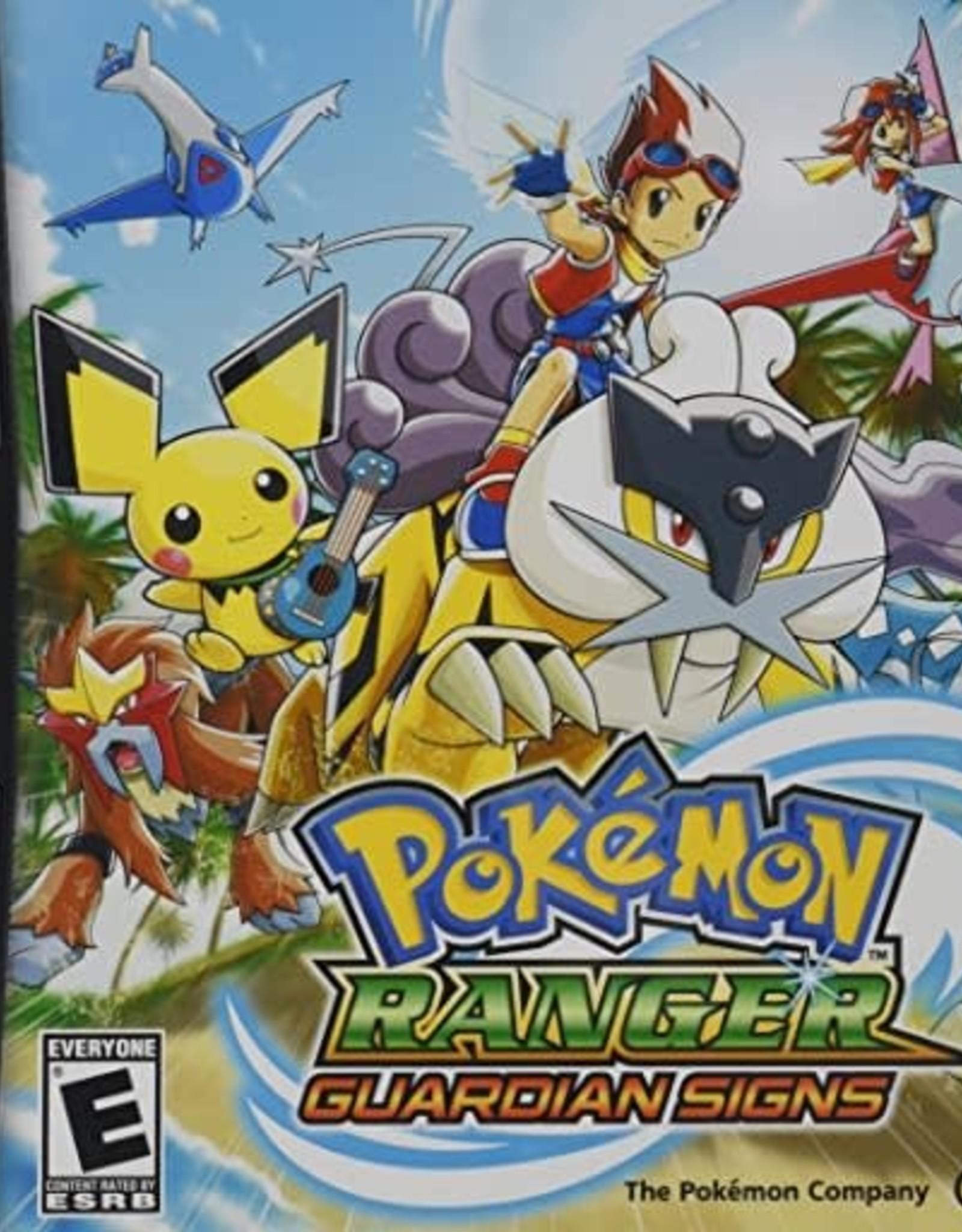 Nintendo DS Pokemon Ranger: Guardian Signs (No Manual)