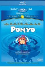 Disney Ponyo (Bluray Only, USED)