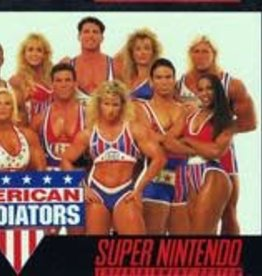 Super Nintendo American Gladiators (Cart Only)