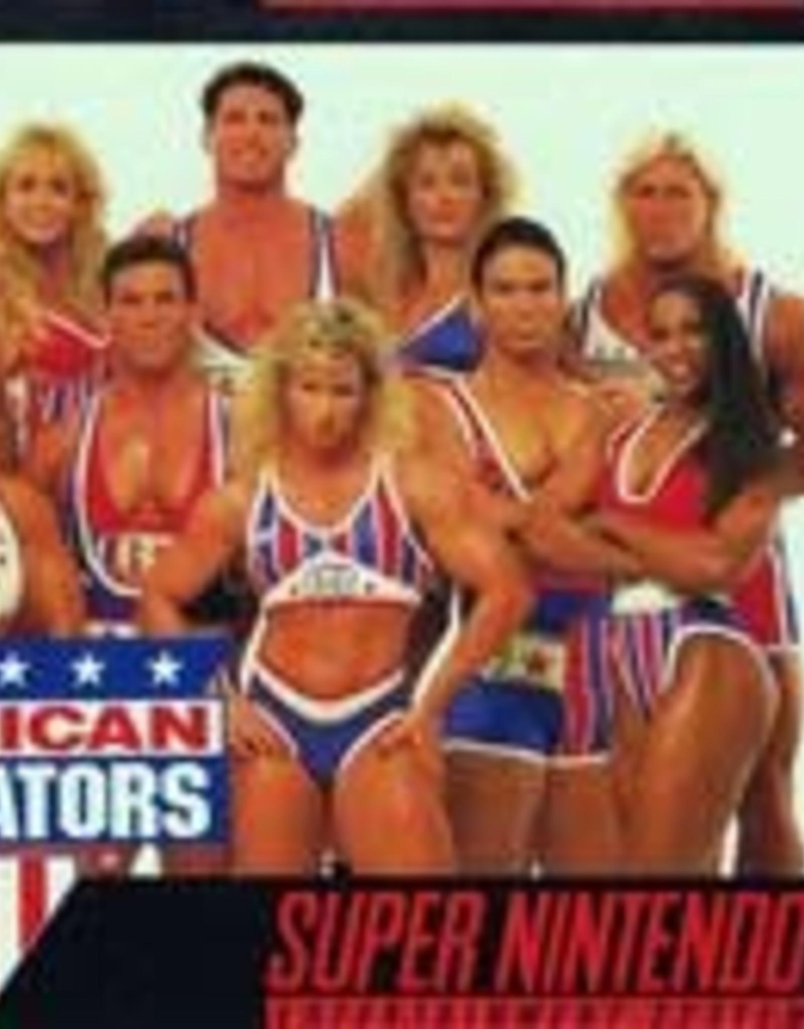 Super Nintendo American Gladiators (Cart Only)