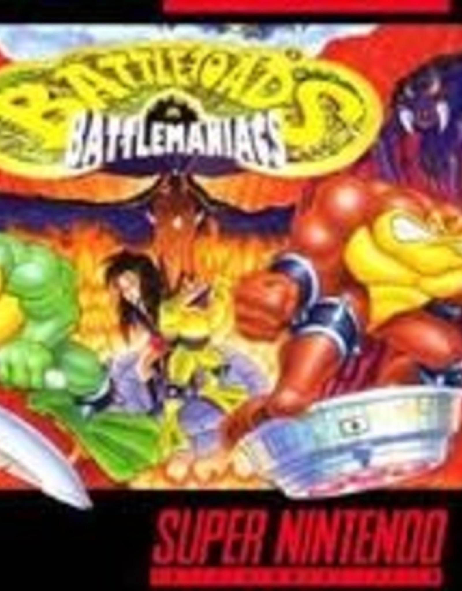 Super Nintendo Battletoads In Battlemaniacs (Cart Only)