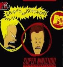 Super Nintendo Beavis and Butthead (Cart Only, Damaged label)