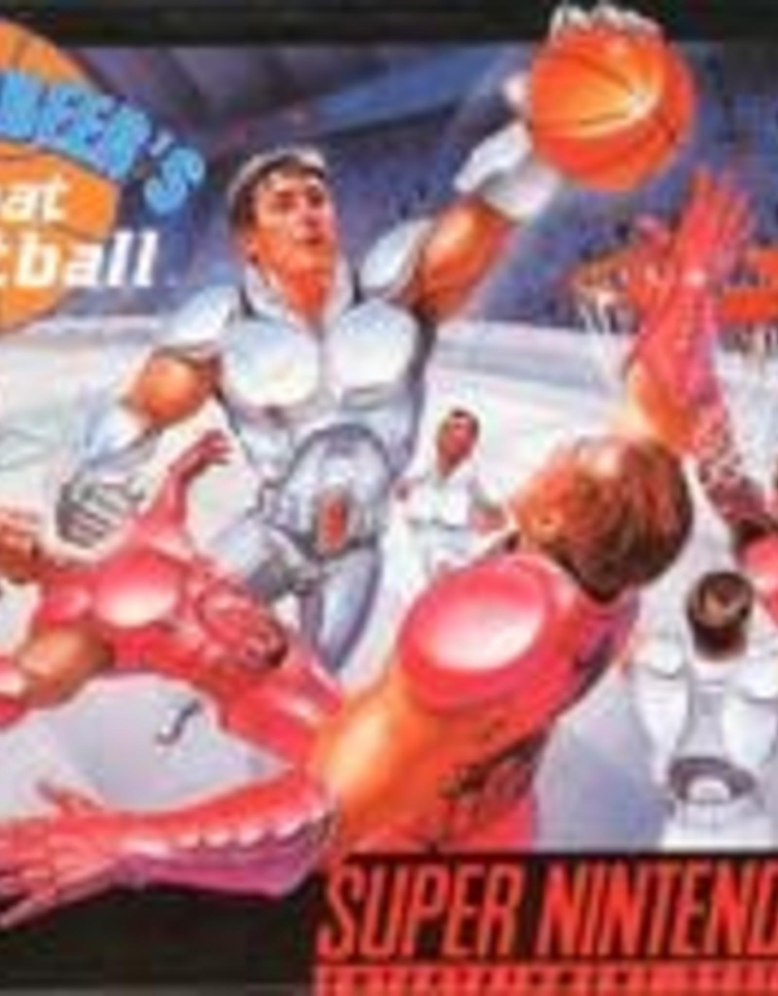 Super Nintendo Bill Laimbeer's Combat Basketball (Cart Only)