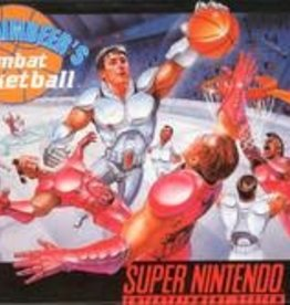 Super Nintendo Bill Laimbeer's Combat Basketball (Cart Only)