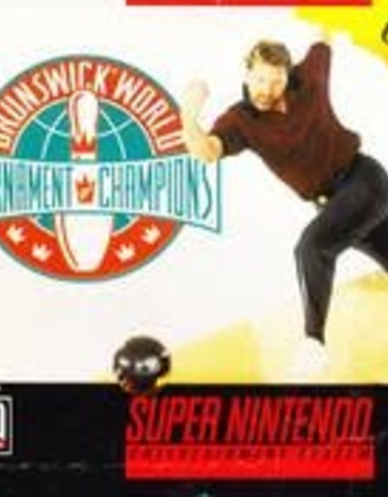 Super Nintendo Brunswick World Tournament of Champions (Cart Only)