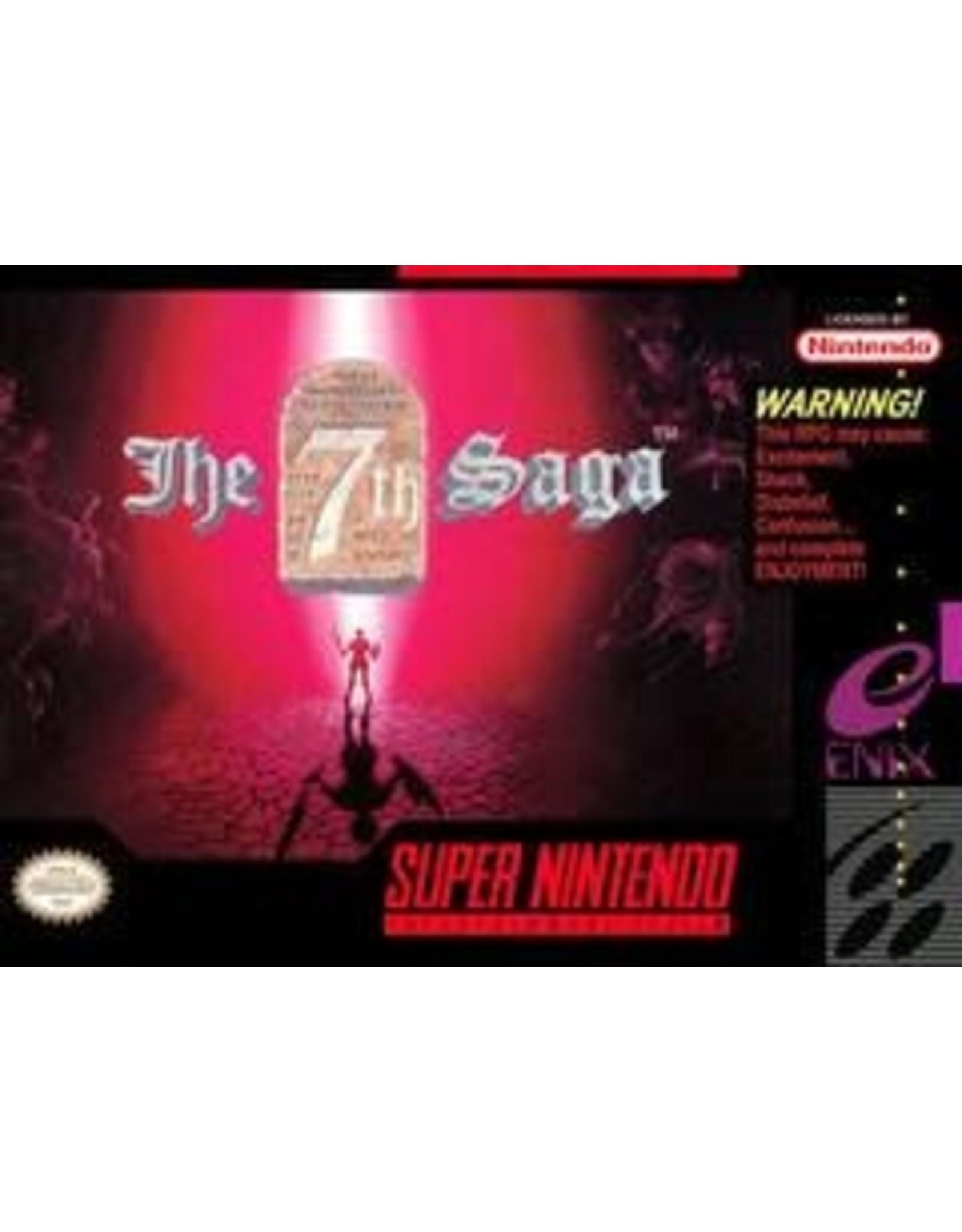 Super Nintendo 7th Saga (Cart Only)