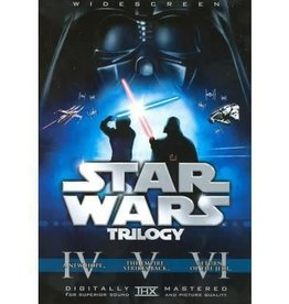 DVD Used Star Wars Original Trilogy (with Theatrical Cuts)