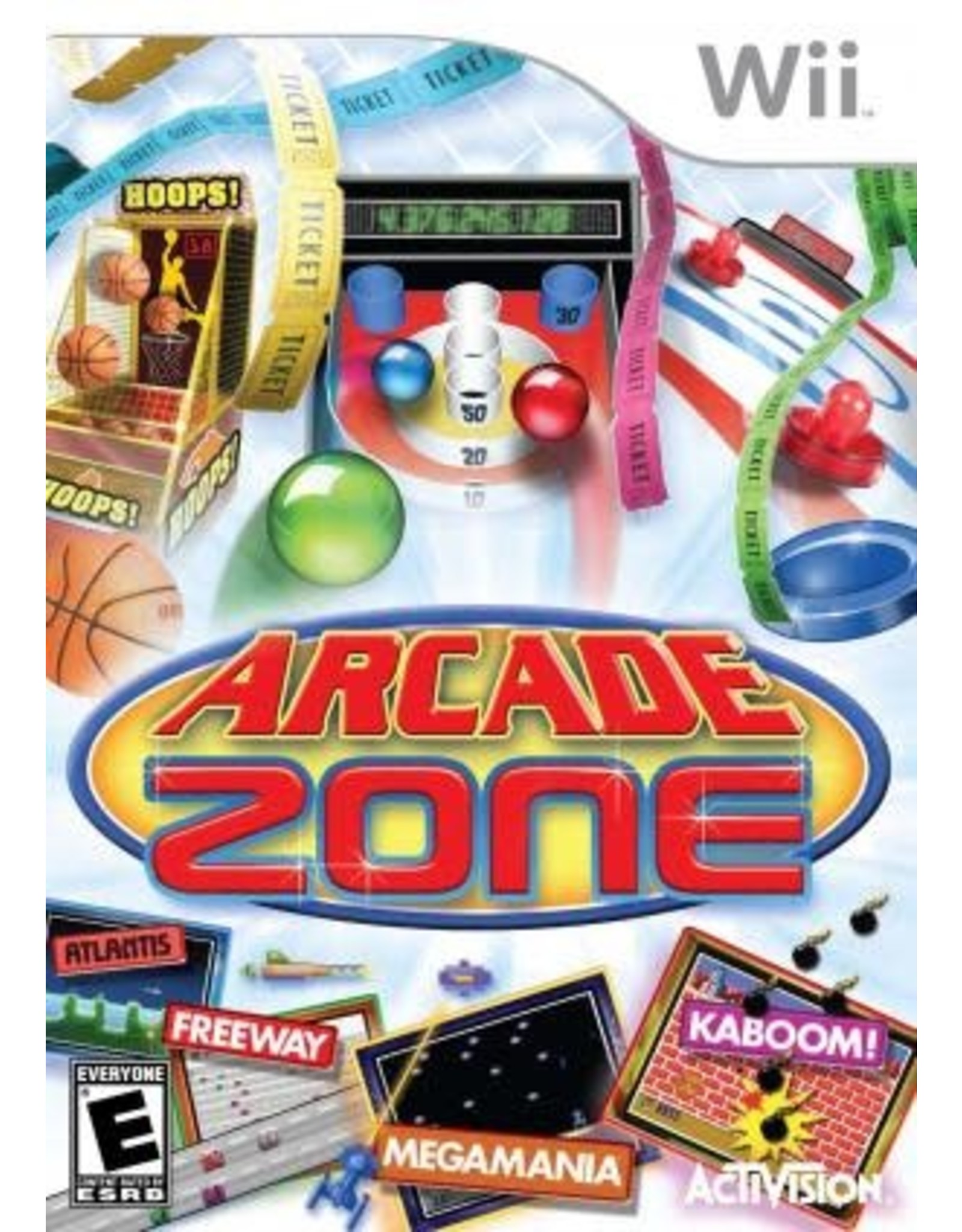 Wii Arcade Zone (CiB)